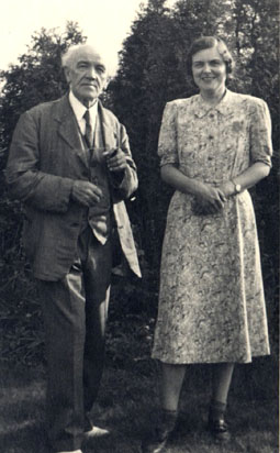 Medtner and Edna Iles, 1940