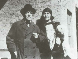 Medtner and Nina Koshetz, 1929